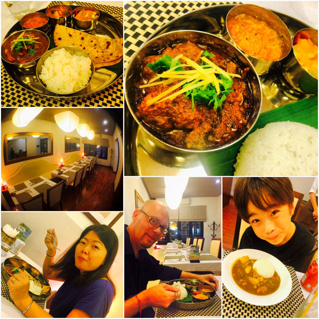 "Excellent curry @ ""The Curry Bar"""