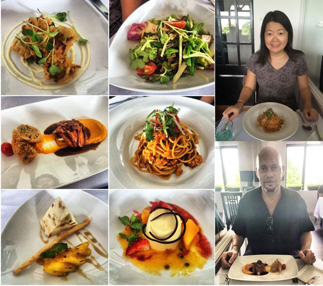 Set lunch @ Halia