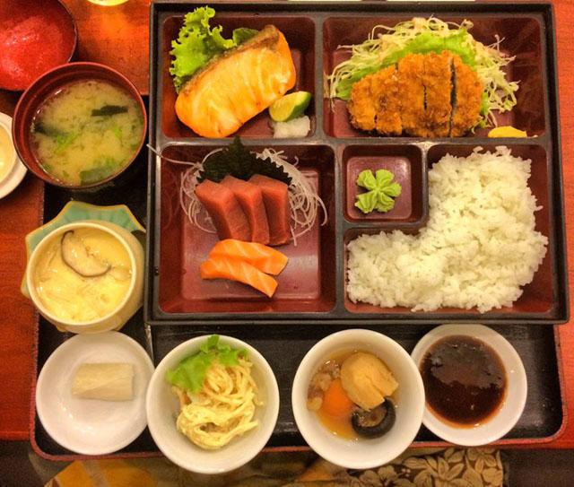 Sushi Lunch @ Yutaka